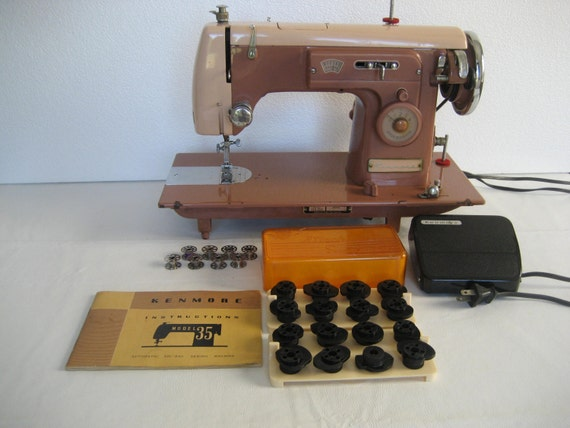 kenmore sewing machine model 35 manual