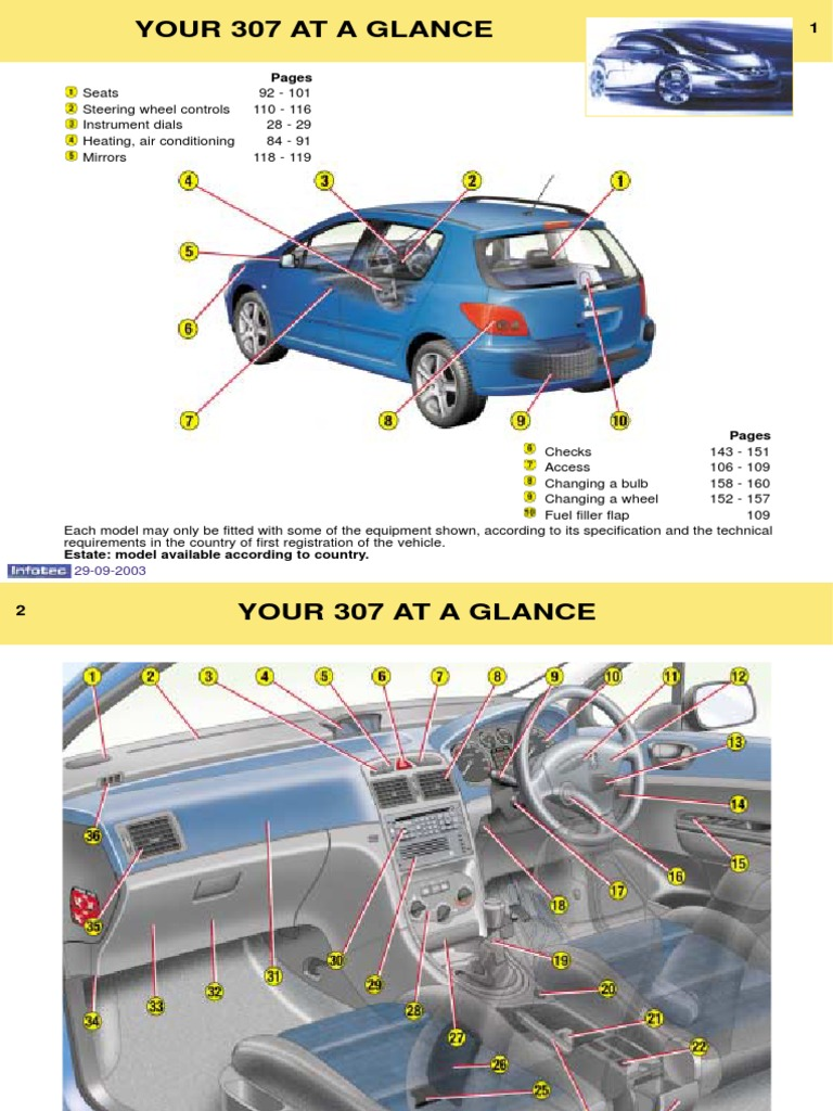 2004 peugeot 407 owners manual free download