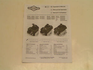 briggs and stratton model 90000 manual