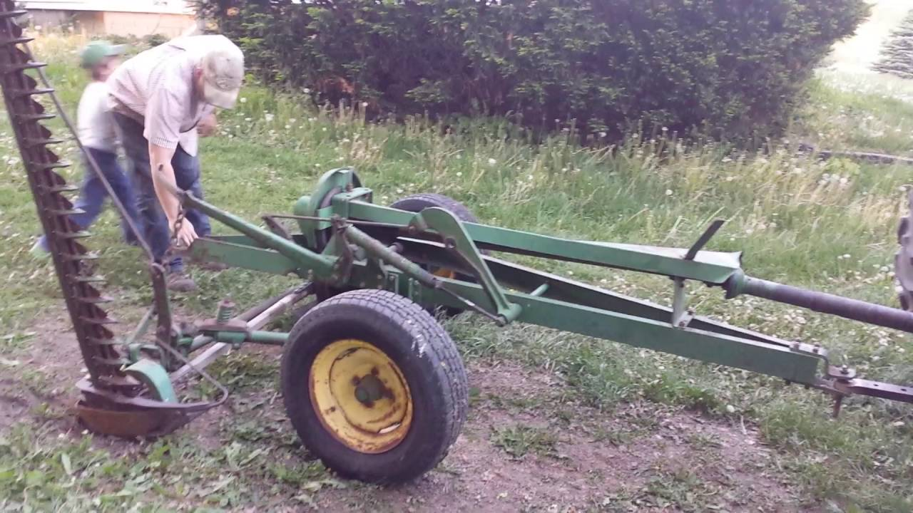 john deere model 37 sickle mower manual