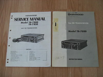 kenwood tr 7800 service manual download