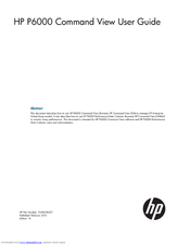 hp computer case instruction manuals
