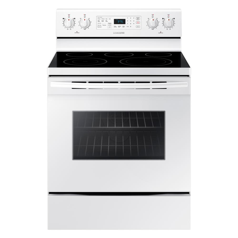samsung 5.9 cu ft convection freestanding electric range manual