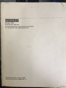 model 6105 keithley instruction manual