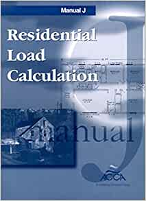 manual j residential load calculation 8th edition pdf