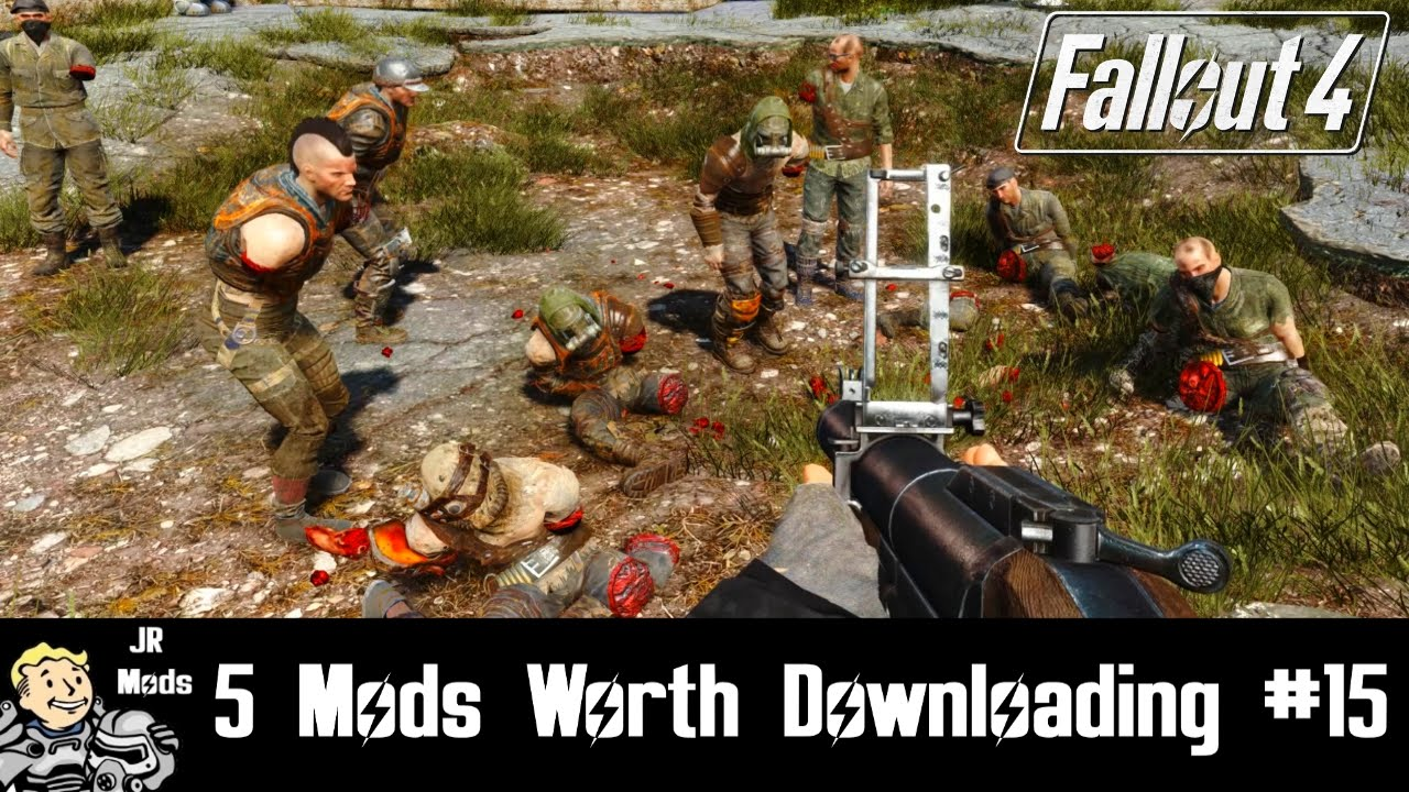 manually downloading fallout 4 mods